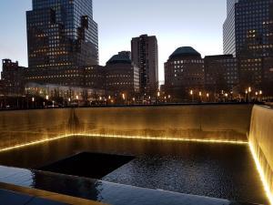 Ground Zero am Abend