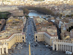 Rom - Blick vom Petersdom