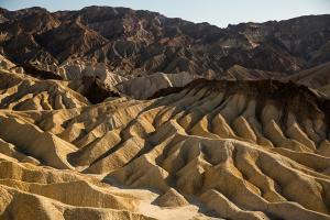 Zabriskie Point in California's Death Valley National Park(© Visit California/Max Whittaker)
