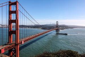 Golden Gate Bridge in San Francisco (© by Marcel Klinger pixelio.de)