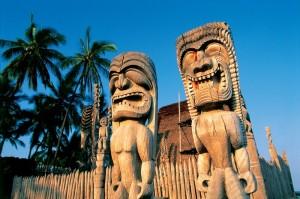 Hawaii Tiki Götter