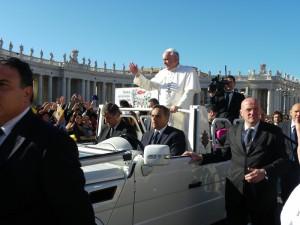 Rom - Papstaudienz