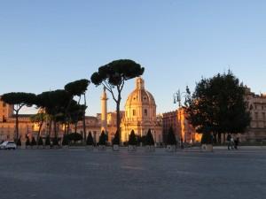 Rom im Sonnenuntergang